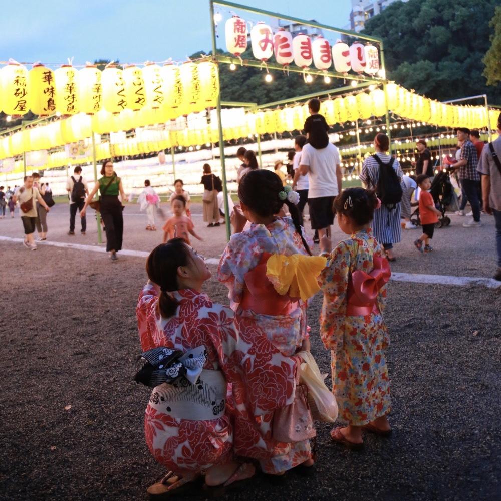 「盂兰盆节」浴衣体验 ー 8/13〜8/16 ー