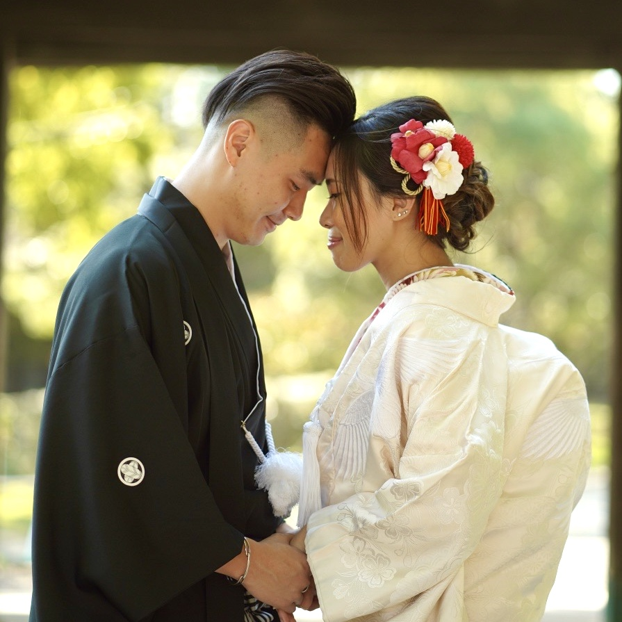 Kimono wedding photo plan
