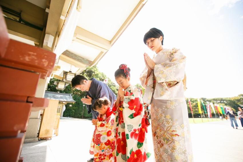 2019年初詣は着物で参拝