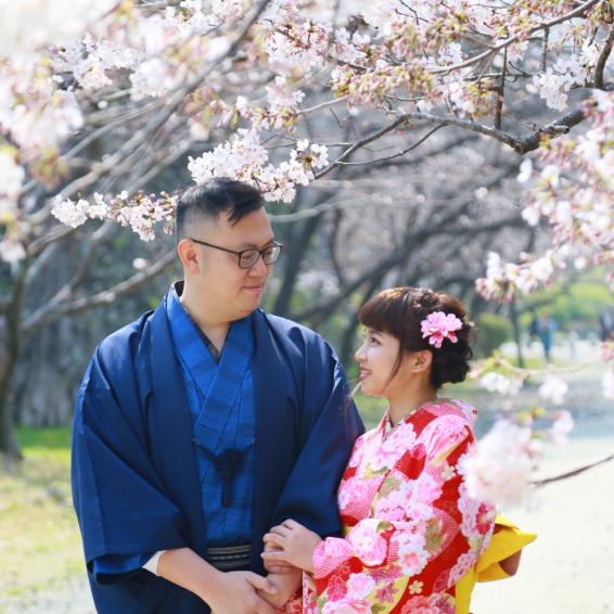 着物de桜まつり