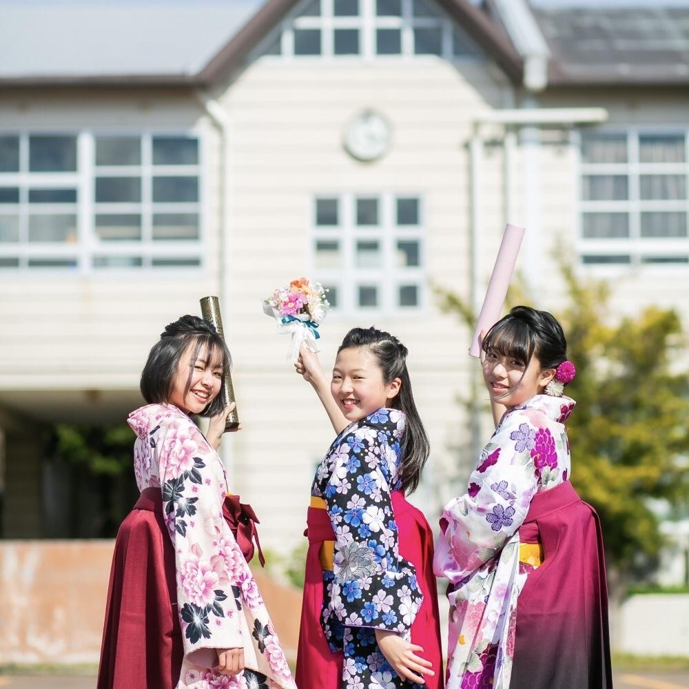 卒業袴フォトプラン<br><small>(幼保育園・小・中・高校卒業)</small>